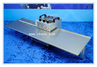 China Multiple Blades LED Strip PCB Cutting Machine, Aluminum PCB Depaneling Machine supplier