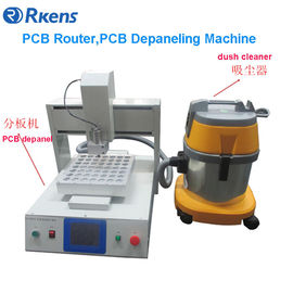 China PCB router, PCB depaneling machine, PCB depanel for irregular PCBs supplier