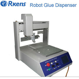 China Hot selling UV glue dispensing machinery for PCB board, Glue dispenser robot supplier