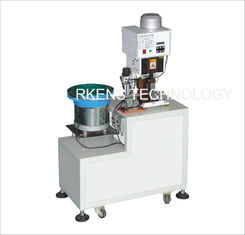 China Wire Terminal Crimping Machine With Automatic Feeder Bowl supplier