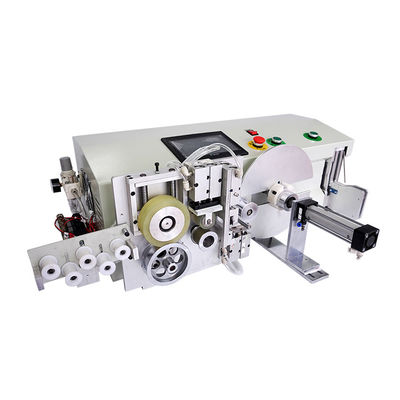 China Cable Coiling And Binding Machine with Counting And Cutting Feature supplier