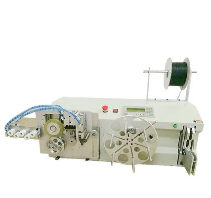 China Programmable Wire Coil Binding Machine Cable Rewinding Cutting Machine supplier
