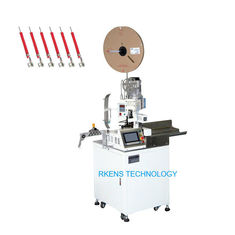 China Automatic wire cutting stripping and single-end crimping machine supplier