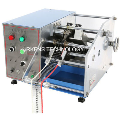 China Automatic Axial Lead Forming Machine , U Shape Resistor And Diode Lead Bending Machine supplier
