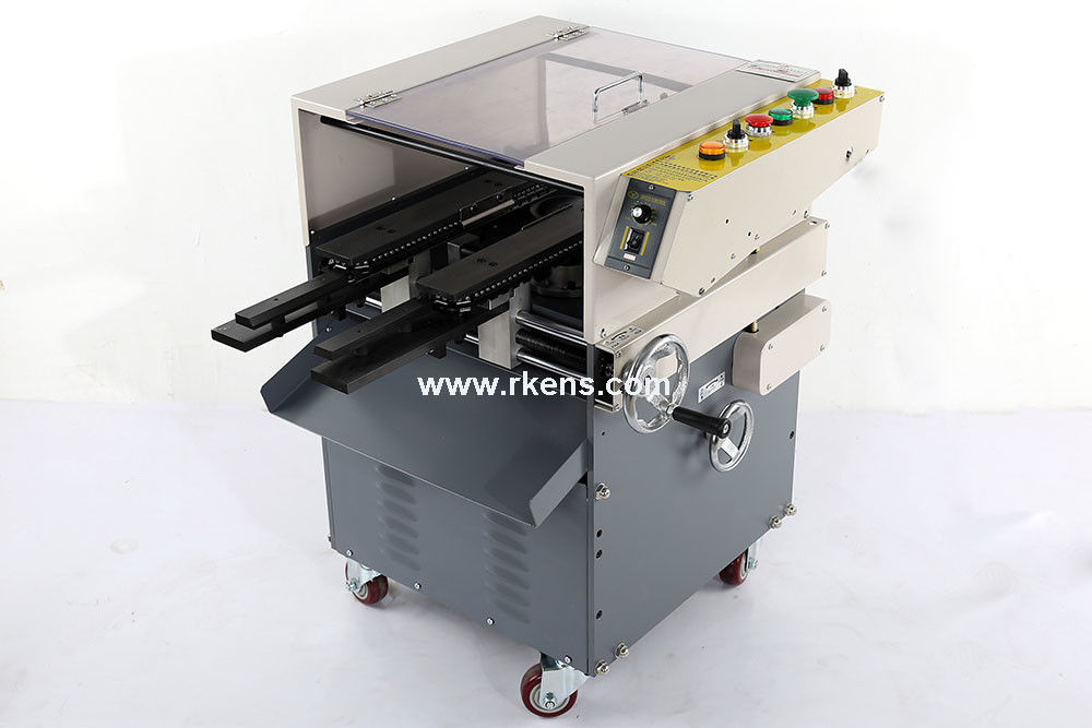 Automatic PCB lead cutting machine after soldering, soldered PCB ...