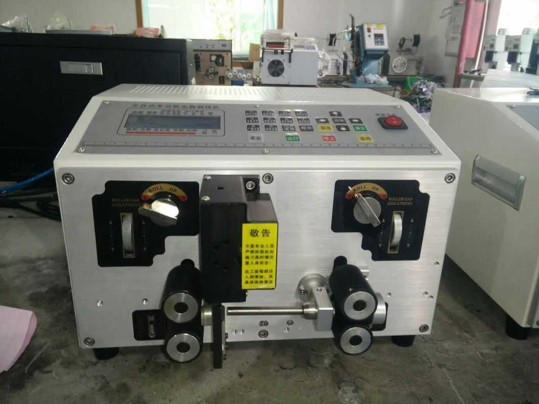 Industrial Stranded Wire Cutting And Stripping Machine