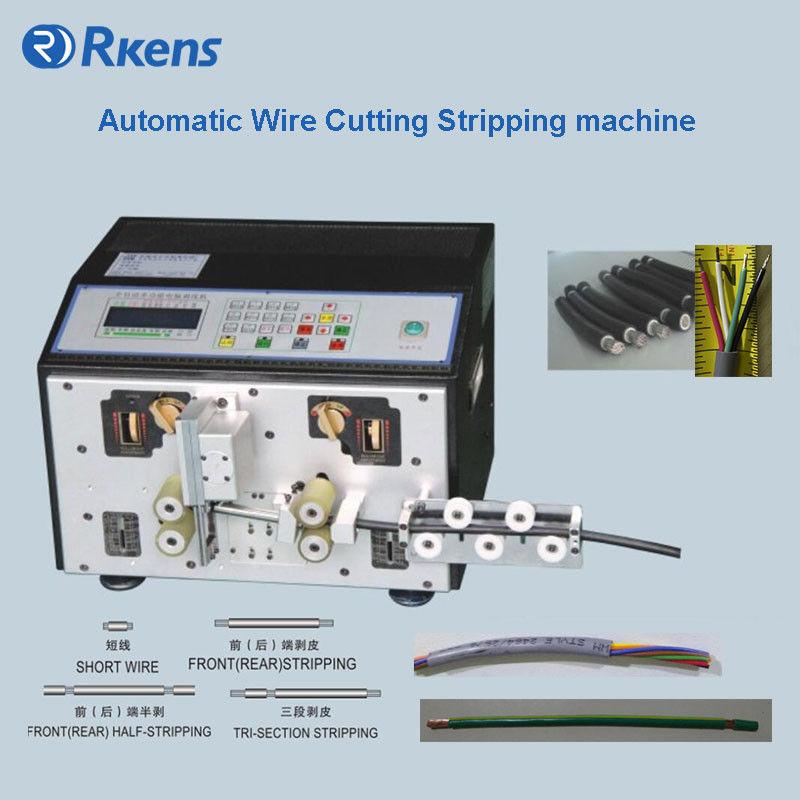 Automatic multi-conductor cables cut and strip machine,Cutting ...