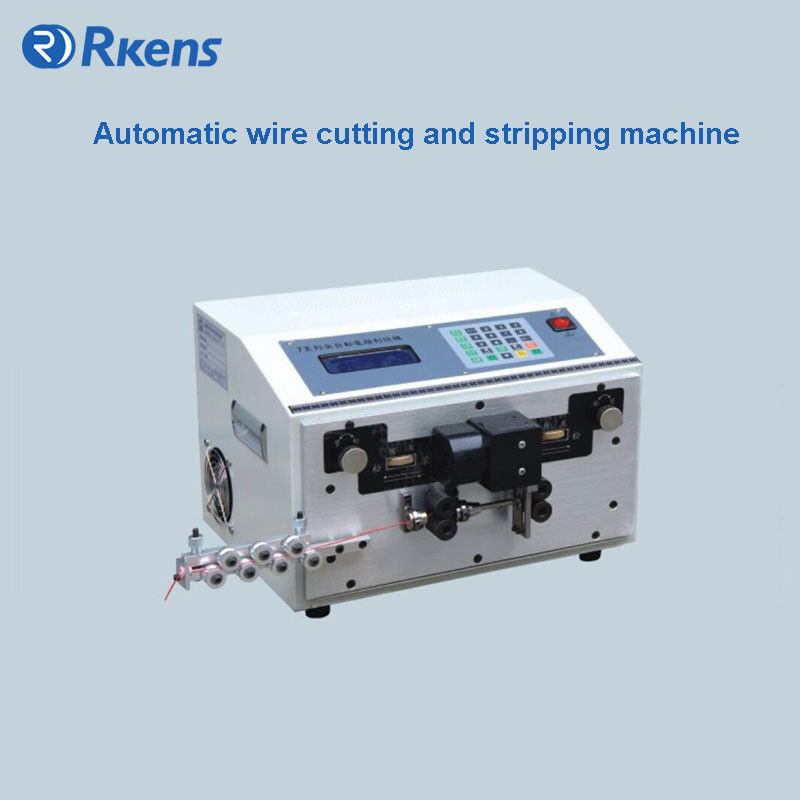 Stranded Wire Cutting And Stripping Machine,Auto Wire Cutter And ...