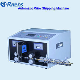 Automatic cable stripping and cutting machine, cut&strip wire