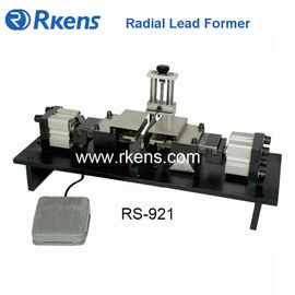 Pneumatic double-knife radial lead forming machine