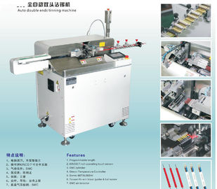 Automatic wire cutting stripping twisting and tinning machine
