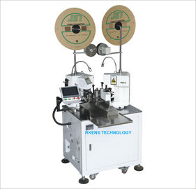 Automatic Two-End crimping machine with cutting and stripping feature