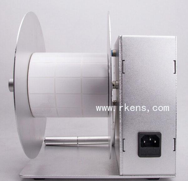 Adjustable Speed Label Rewinder Automatic Label Rewinding