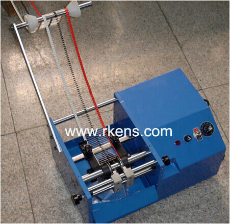 resistor lead cut and bend machine