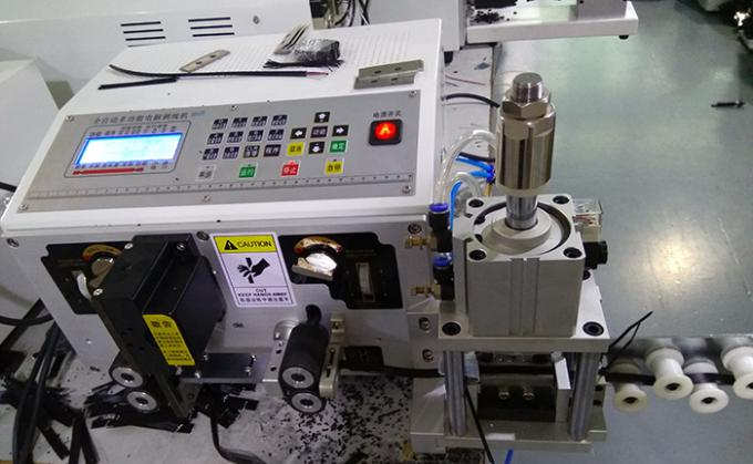 Automatic Flat Ribbon Cable Cutting Stripping And